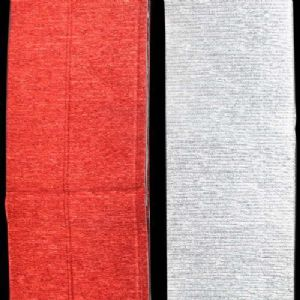 Thick Crepe paper, Silver colour, Pinkish red, 8.8-10cm x 2.5m, 2 sheets, [CR397]